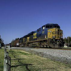 CSX Train S441 (aka CSX Train Q441) in Folkston, GA #CSX5287
