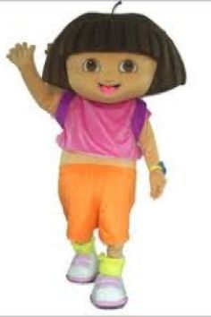 Dora Explorer party character rental kids birthday parties rent diego dora the explorer mascot costumes  sc 1 st  Pinterest & 41 best Party Mascots images on Pinterest | Costume rental Anna and ...
