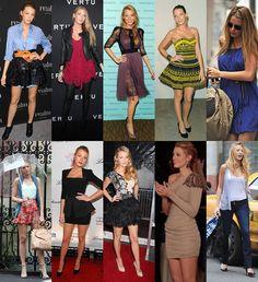blake lively gossip girl fashion | STYLE: Blake Lively