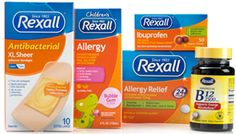 Free Rexall Products Good Health Coupons