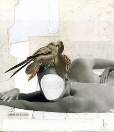 Kerstin Stephan: In Twos , 2012 www.kidsofdada.com/products/in-twos-2012 #collage #woman