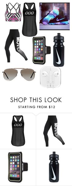 """""""Lorna Jane, Nike, Apple sportswear"""" by tay-5702 on Polyvore featuring Lorna Jane, Incase, NIKE and Tom Ford"""