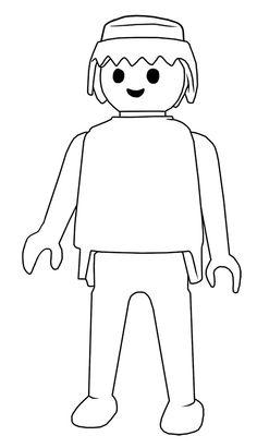 Coloriage à imprimer : Personnages célèbres - Playmobil numéro 28887