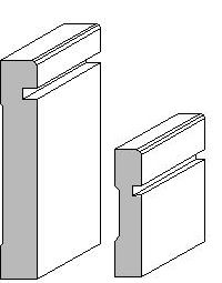 Furniture base trim molding google search molding and for Contemporary trim profiles