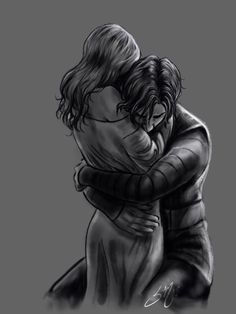 "cincala: ""Yay light study with Reylo! Also learning to use the water brushes in Procreate. This is a scene from ""Unbidden"" a fanfic by I highly recommend it if you love kylo/Ben perspective stories and force bond! Romance Art, Fantasy Romance, Dark Fantasy Art, Dark Art, Fantasy Love, Reylo, Cute Couple Art, Cute Couples, Character Inspiration"