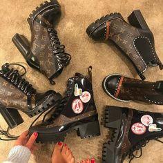 LV combat boots nyshlanyonce