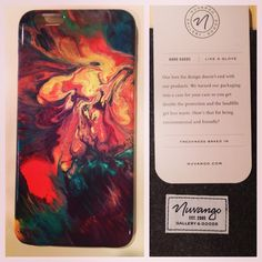 """""""Loving my Nuvango custom printed iPhone case! Shipped with class and in a nice case by @nuvango - Art is """"Wizard's Storm"""" by #DavidWellsArt order at Nuvango.com/DavidWells"""" via https://instagram.com/p/2BlzfqRnLw/ #Nuvango #NuvangoCommunity"""