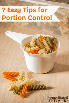 Managing portion sizes is essential for achieving weight loss and improving your health. Use these 7 Easy Tips for Portion Control at your next meal. Diet tip | fitness guide | healthy living life hack.