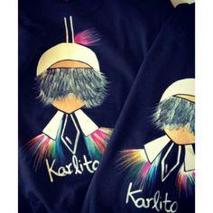 Karlito tshirt #handmade #karl #karlito #outfit