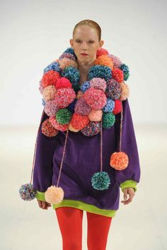 pom poms in fashion - Google Search