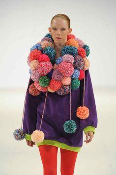 pom poms in fashion - Google Search