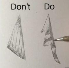 Drawing cloth