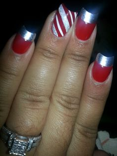 Christmas Art with Candy Cane Twist