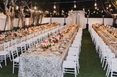 La Tavola Fine Linen Rental: Lily Blush over Topaz Blush | Photography: Mandee Johnson, Venue: Avalon Hotel Palm Springs, Planning: Ashley Port, Florals: Vaso Bello
