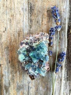 Rogerley Fluorite Crystal 60 gm, England, Reiki, Chakra Stones, Mineral Specimens, Crystal Grids, Meditation Stones, Pagan, Altar Stones by SacredSpaceMinerals on Etsy