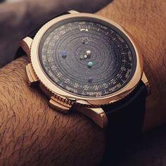 Van Cleef and Arpels Complication Poetique Midnight Planetarium Watch Hands-On…