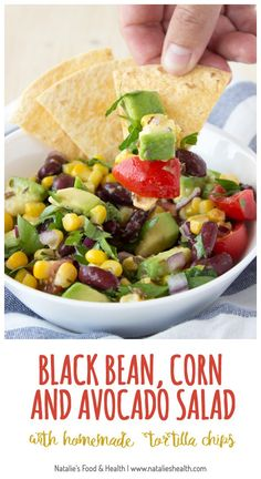 Best Vegetables And Corn Or Tortilla Chips Recipe on Pinterest