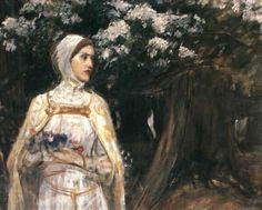 John William Waterhouse -Beatrice Circa 1915