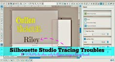 Silhouette School: Silhouette Studio: Trace Tool Only Tracing Half the Image (Troubleshooting Tutorial)