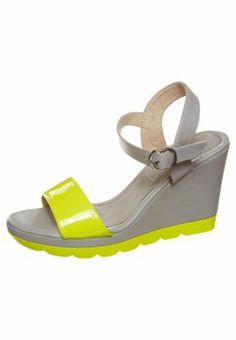 LYS - High heeled sandals - grey
