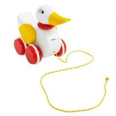 Brio - Pull Along White Duck