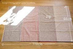 날씬해보이는 고무줄치마 만들기- 방법&패턴 : 네이버 블로그
