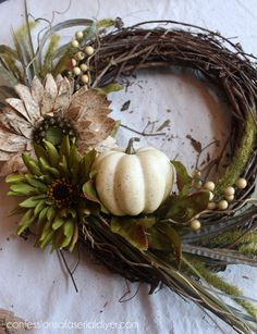 New Fall Wreath for Chic Front Door :: Hometalk
