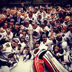 Chicago Blackhawks Stanley cup champions 13""