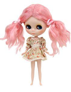 Wigs2dolls.com 人形・ドールウィッグ通販専門店 Doll Wig Online Store  B-184 可愛いふわゆるツインテールウィッグです♪ピンクのリボンつき! #Blythe #BJD #SD #SuperDofflie #Wig #Cosplay #Halloween #Fashion #Wedding #Hair #ヘア #ブライス