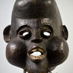 Nkoh Dealing With Loss, Earth Pigments, The Orator, Male Figure, Clay Beads, Carving, Wood Carvings, Sculptures, Printmaking