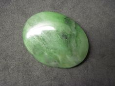 Nephrite jade cabochon by Redtailedhawk on Etsy