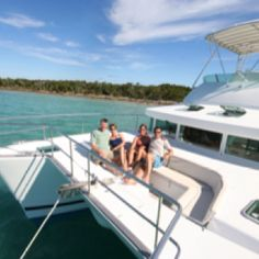 Cruising the Abaco Islands with friends! Lagoon Power Cat 43.