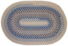 Millennium Braided Rugs - Periwinkle 2x3 Oval Braided Rug by Rhody Rugs. $34.99. Quality Crafted in New England. Guaranteed to lie flat!. Available in matching Chair Pads and Stair Treads!. Crafted from luxuriously soft wool blend. 2x3 Oval Braided Rug. Millennium Braided Rug Collection are the finest and most luxurious braided rugs available. These rugs are crafted from 75% wool and 25% polypropylene, giving you the softness of wool underfoot with the added durability ...