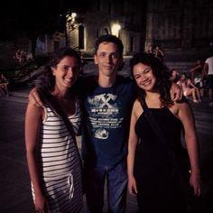 Retrouvailles sur Barcelone avec Jade, qui repart demain pour le Québec, et rencontre avec Marina qui vient du Brésil :-)