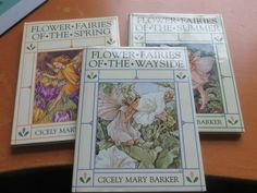 Cecily MAry Barker Small Books Flower Fairies of the WAYSIDE- Summer and Spring