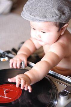 My little baby DJ
