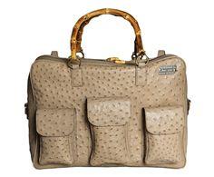 POWER: Bag, Limited Collection, Light Brown, Ostrich Skin, Handmade Product, Made in Italy, limited edition, luxury, real leather, Borsa, edizione limitata, Marrone chiaro, pelle di struzzo, vera pelle, lusso, prodotto artigianale, italia. Size can vary: 40cm x 36cm