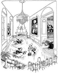 Quino - Potentes, prepotentes e impotentes (Powerful, Arrogant and Impotent, Lucky Luke, Amazing Adventures, Funny Comics, Taj Mahal, Caricatures, Funny Comic Strips, Funny Cartoons