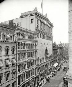 "Circa 1900. ""Tremont Temple, Boston."" The Baptist church and auditorium."