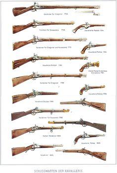 Evoluzione del fucile e della pistola della cavalleria francese