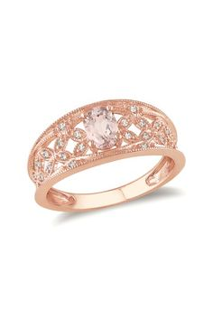 So when my future fiance says: What should I get her? Please direct him to this: Rose Gold Ring