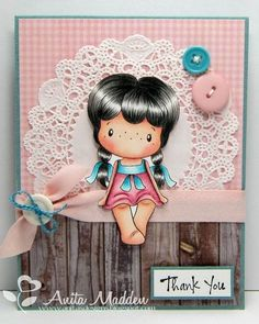 A community site for rubber stamp art, paper craft and scrapbook artists. Hand Stamped Cards, Paper Frames, Copics, Kids Cards, Scrapbook Cards, Cute Drawings, Thank You Cards, Magnolias, Projects To Try