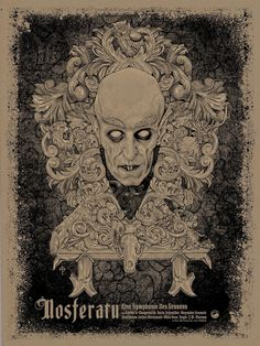 "keyframedaily: "" thepostermovement: "" Nosferatu by Timothy Pittides "" Watch. """