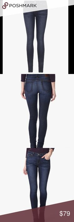 JOE'S THE ICON MID RISE SKINNY ANKLE JERLYN JEANS The Icon Skinny in Jerlyn is a dark indigo stretch denim featuring flat shadow whiskers and overall hand-sanding. A classic choice to keep in rotation. Joe's Jeans Jeans Skinny