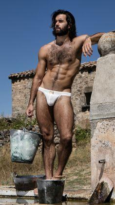 Hairy Men, Bearded Men, Healthy Man, Art Of Man, Hairy Chest, Guy Pictures, Man Photo, Muscle Men, Male Body