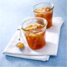 Recepten (rabarber met abrikozen)