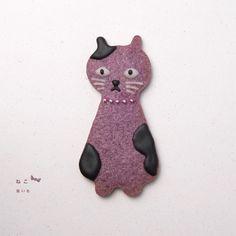 心情饼感 } The Little Henteco Cookie Cat Cookies, Sugar Cookies, Crazy Cat Lady, Crazy Cats, Japanese Cookies, Sweet Potato Cookies, Purple Sweet Potatoes, Galletas Cookies, Character Cakes