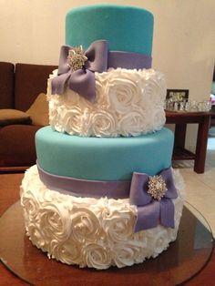 Wedding cake By Dulce Galeria