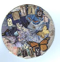 Cool deco recycled cd