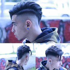 """New """"boy hairstyles images"""" Trending Boy Amazing hairstyle pic collection 2019 Undercut Hairstyles, Boy Hairstyles, Latest Hairstyles, Undercut Pompadour, Faux Hawk Hairstyles, Cool Haircuts, Haircuts For Men, Hair And Beard Styles, Short Hair Styles"""